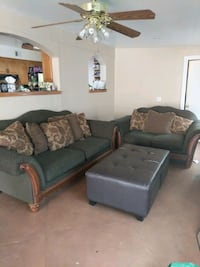Living room set couch, and love seat 1920 mi