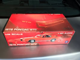 GMP - 1972 Pontiac GTO - 1:18 Scale - Only 1 of 3,996
