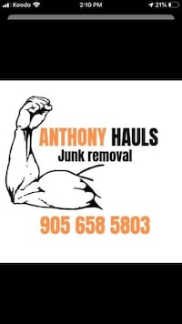 Full a service junk removal. Quote with picture Niagara Falls