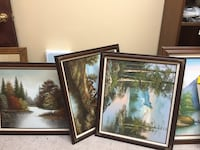 two brown wooden framed painting of trees Gulfport, 39501