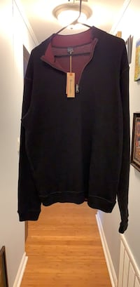 Mems Taylor Vintage reversible sweater  size Large unworn Kensington, 20895