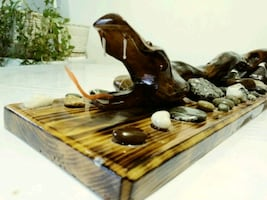 """Woodcrafts """" Snack on the rocks"""""""