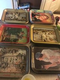 Coca Cola trays 271 mi