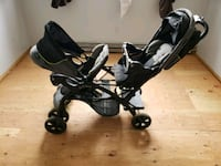 Double stroller almost brand new  Jersey City, 07306