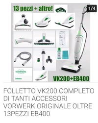 aspirapolvere Folletto VK200 bianco e verde Gallarate, 21013