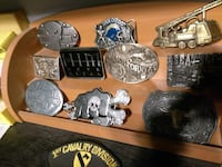 Belt buckles for $15 each or all 20 for $199 2280 mi