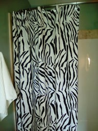 Cloth shower curtain Kelowna, V1V