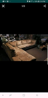 Suede sofas couches great condition $180obo Culver City, 90230