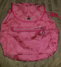 Pink coach backpack West Monroe, 71418
