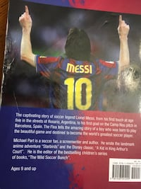 The amazing story of Leo Messi book paper back  Sparta, 07871