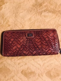 Good condition leather wallet by Cole Hana