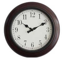 Wall Clock Wooden Elegant  New Westminster