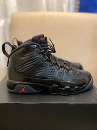Jordan 9s bred size 6.5 Worn once basically brand new Price negotiable