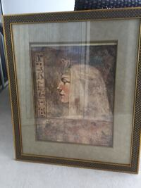 Picture with nice gold frame (2.5ftx3ft) Vaughan, L4L 7G4