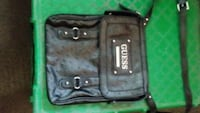 black Guess leather crossbody bag 985 mi