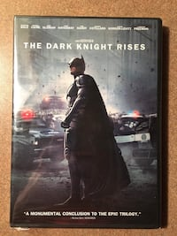 The Dark Knight Rises - DVD - New Whitby, L1R 0H6