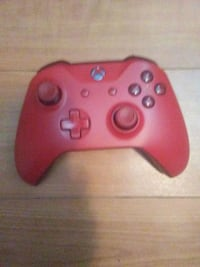 Red xbox one controller Surrey, V3T 3S5