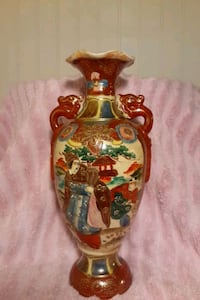 """Antique Asian Vase Over 100 Years Old 10.5"""" Tall  Milwaukee, 53225"""