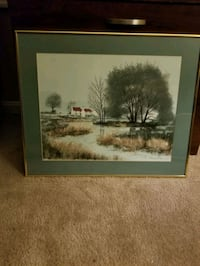 Large framed and matted wall picture Mechanicsburg, 17055