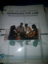 Managing the Law fifth edition Mississauga, L5M
