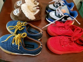 Size 6 shoes lot