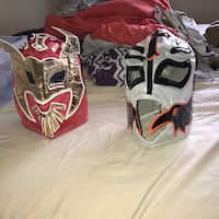 Authentic WWE Masks (EVERYTHING for $10) Edmonton, T5Y 1Z4