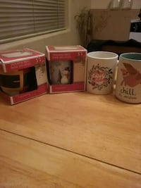 4 New Coffee Cups...Never Used Las Vegas, 89147
