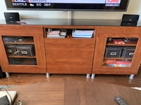 TV Cabinet with Glass Top  Hyattsville, 20782
