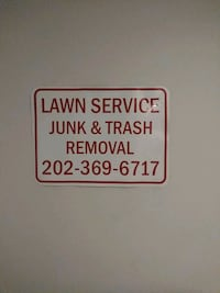 Lawn mowing. Junk. Trash removal dc,md,va Washington Metropolitan Area