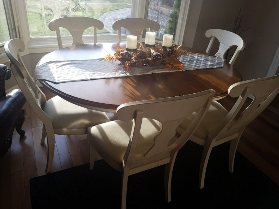 used ethan allen dining set for sale in hamilton letgo rh ca letgo com