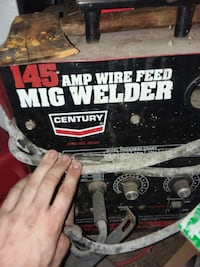 145 Century gas gasless mig welder  Bluff City, 37618