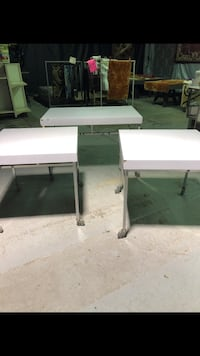 3pc Display Tables on Wheels! Portage