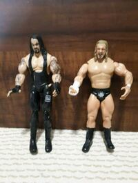 WWE The Undertaker and Triple H action figures.  Whitby, L1P 1A2