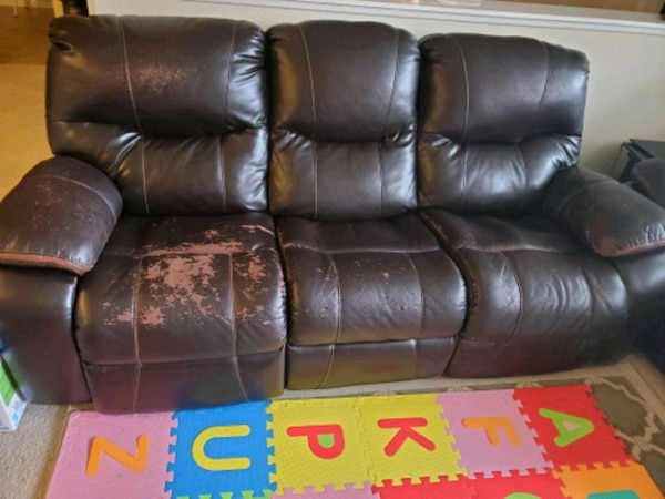 Power reclining Sofa 3 seater and 2 seater