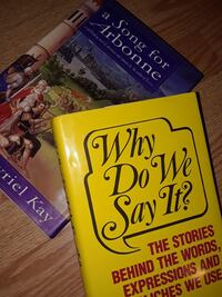 two A Song for Arbonne and Why Do We Say It? books