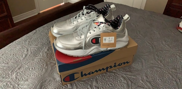 new product 1733f f7fe2 Champion 98eighteen silver DS (size 12)