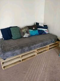 Just the pallet. Good base for queen bed Vancouver, V6E 1P5