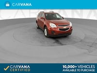 2013 Chevy Chevrolet Equinox suv LT Sport Utility 4D Red Brentwood
