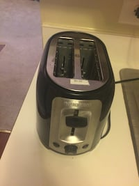 gray and black Black and Decker 2-slot toaster Germantown, 20874
