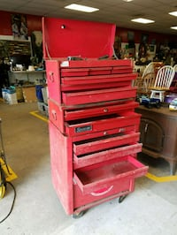 red and black tool chest Lincoln, 02865
