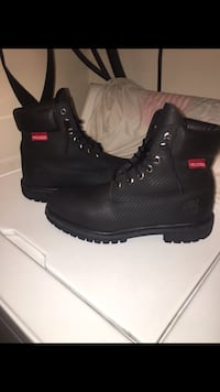 Timberland All Black Men's 6-Inch Helcor Leather Toronto, M1P 2S1