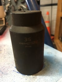 OEM TOOLS 25206 ; 36MM axle nut socket 1/2 inch driver . At Auto Zone $22.99 and on eBay $19.99. Greenwood, 46143