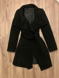Black coat jacket Vancouver