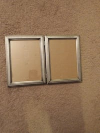 two rectangular brown wooden photo frames Manhattan, 60442