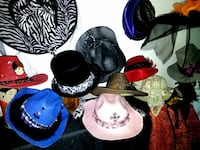 Hats-Custom-Halloween-Cowboy/girl-Top-Witch + HUNTINGTN BCH, 92646