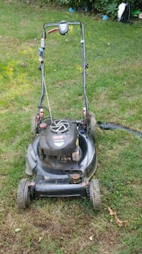 gray and black push mower Rockville, 20853