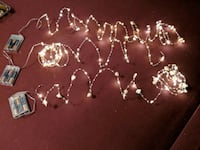 Mini lighted strings with pearls Fairfax, 22032
