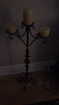 black metal candle holder stand Whitby, L1R 2K2