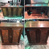 Oriental Hand Carved Marble-Top Bar  Reno, 89502