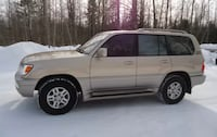 Lexus lx470 1999 car for parts  or as is.